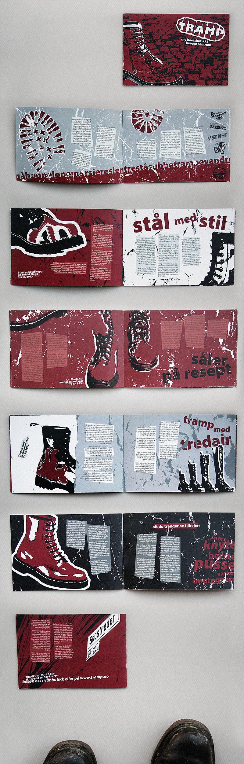 Boots shop brochure / crayoncrisis.com