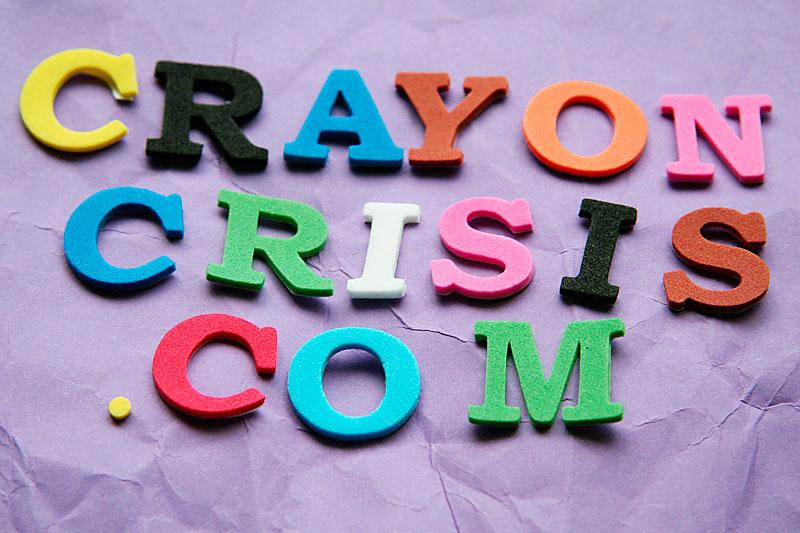 Foam letters / crayoncrisis.com