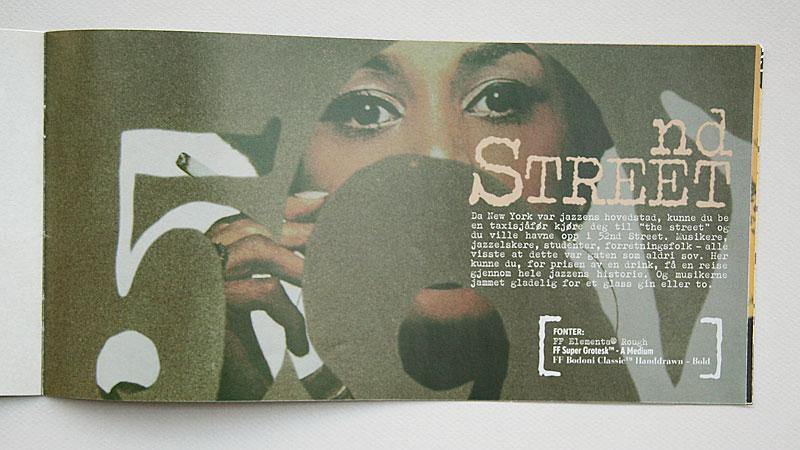 Jazz typography / crayoncrisis.com