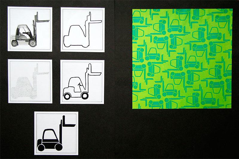 Forklift pattern / crayoncrisis.com