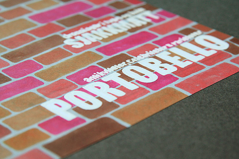 Magazine layout / crayoncrisis.com