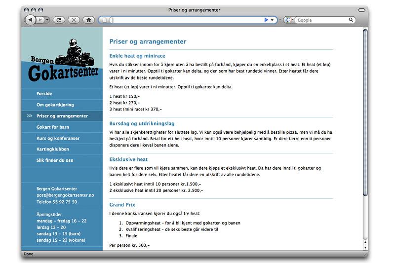 Webdesign / crayoncrisis.com