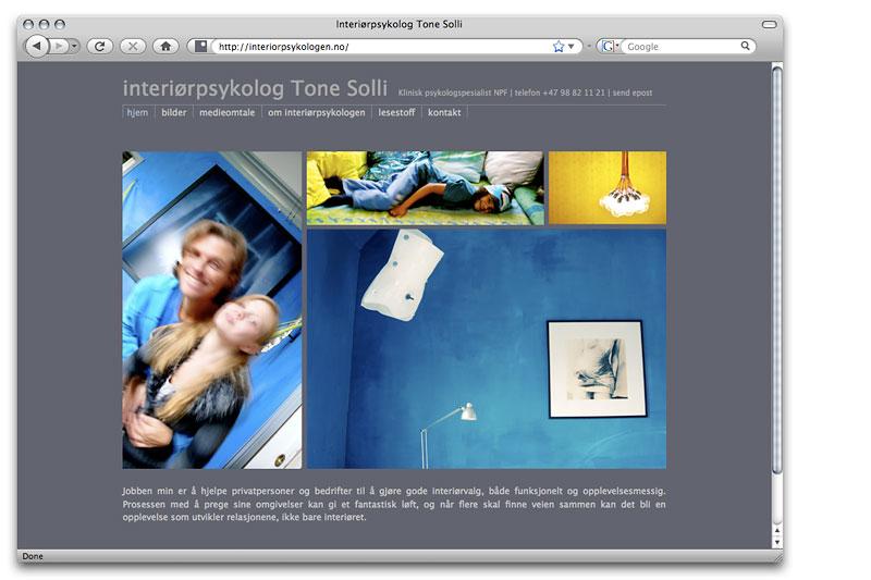 Web design / crayoncrisis.com