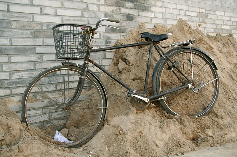 Bicycle in Beijing / crayoncrisis.com