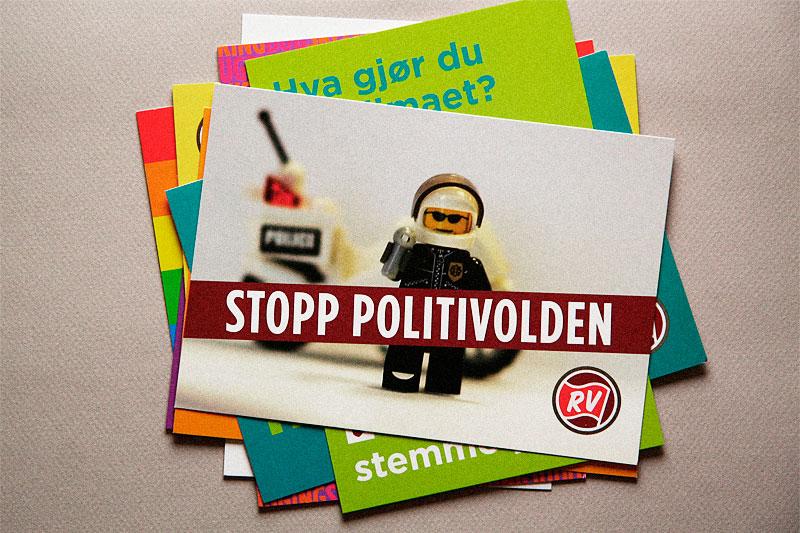 Stopp politivolden / crayoncrisis.com