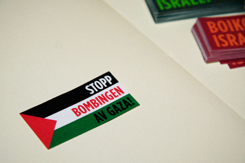 Support for Palestine / crayoncrisis.com