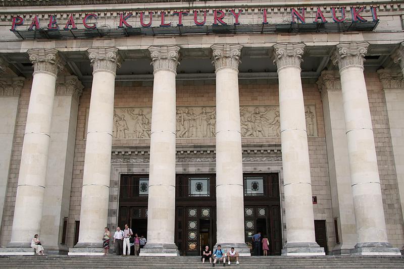 Pałac Kultury in Warsaw / crayoncrisis.com