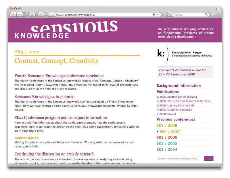 Sensuous Knowledge