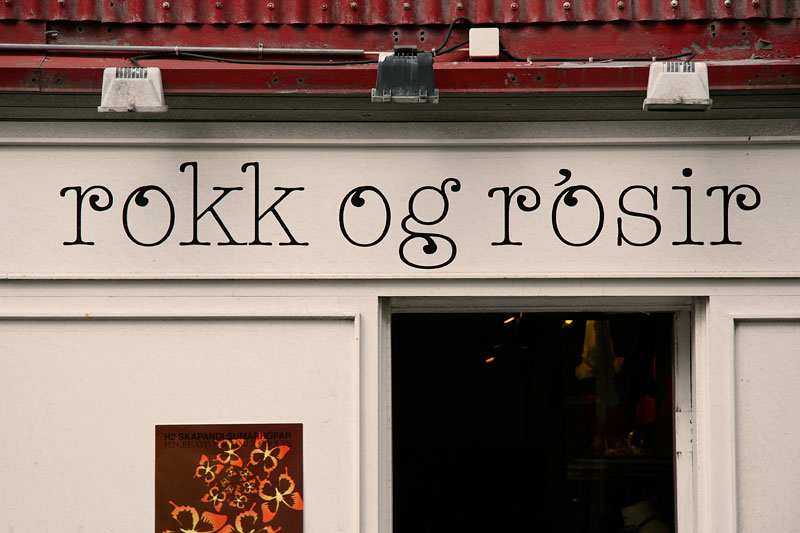 Typography from Reykjavik / crayoncrisis.com