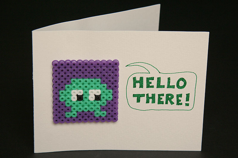 Hello there! greeting card / crayoncrisis.com