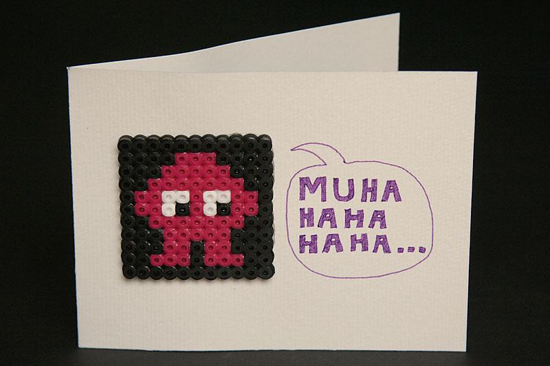 MUHAHAHAHA greeting card / crayoncrisis.com