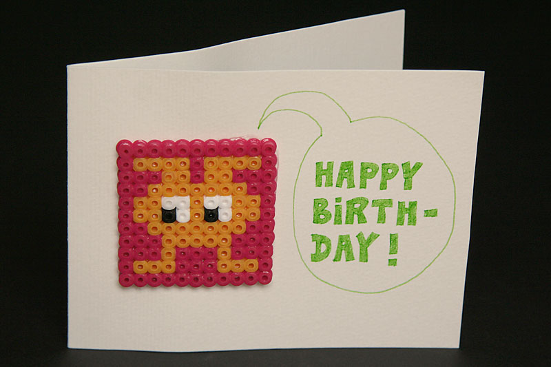 Happy birthday card / crayoncrisis.com