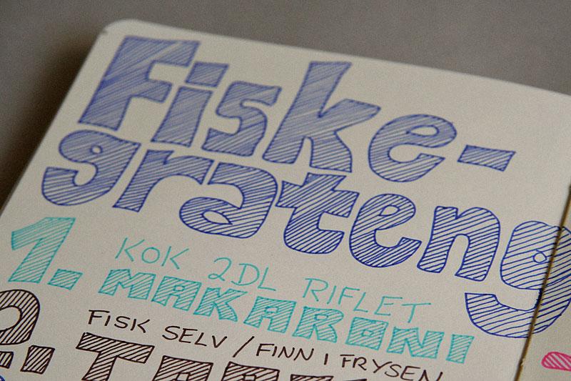 Fiskegrateng / crayoncrisis.com