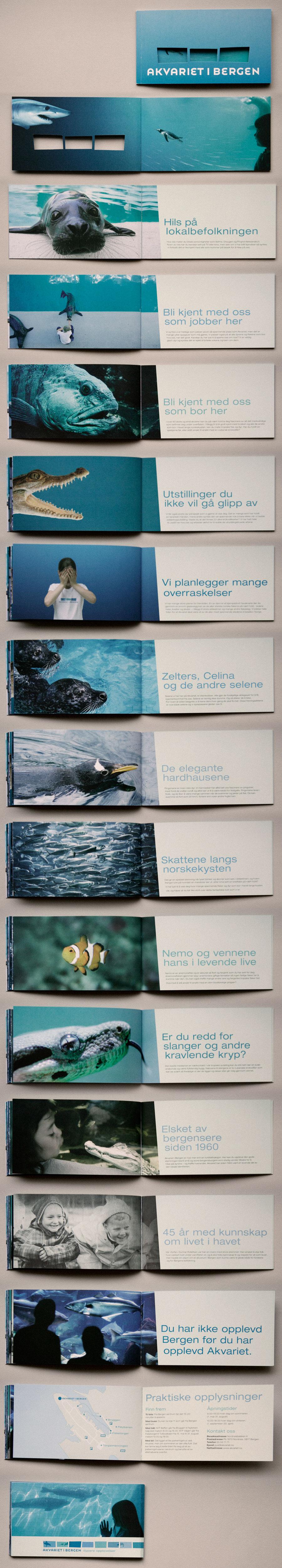 Bergen Aquarium Booklet