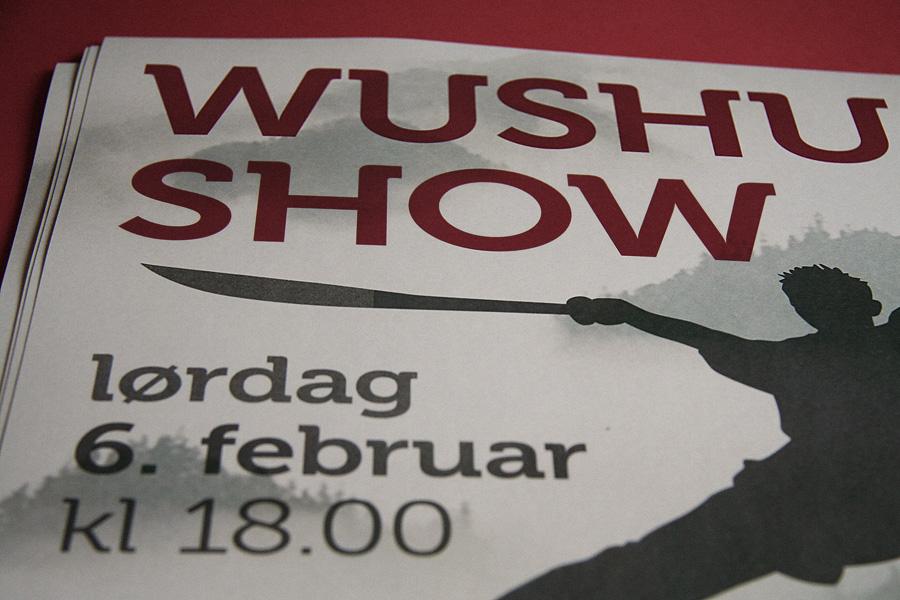 Wushu Show Poster / crayoncrisis.com